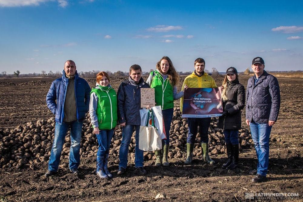 АгроЭкспедиторы на полях предприятия «Андреевка»